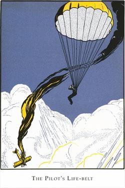 Parachutist by Found Image Press