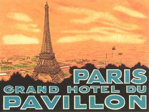 Pavillon Hotel, Paris by Found Image Press