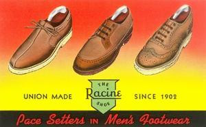 Racine Men's Shoes by Found Image Press
