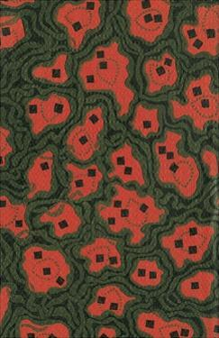 Red Shapes Surrounded by Green by Found Image Press