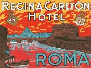 Regina Carlton Hotel, Rome by Found Image Press