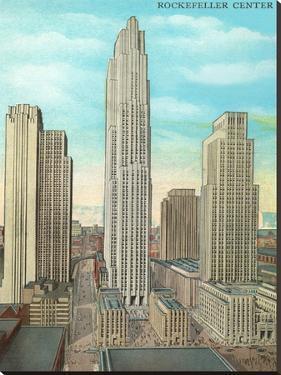 Rockefeller Center by Found Image Press