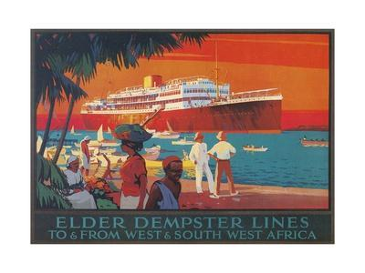 Travel Poster, West and Southwest Africa