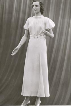 Twenties Female Mannequin in Long Dress by Found Image Press
