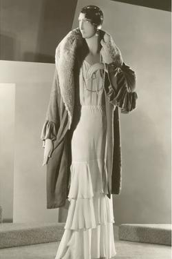 Twenties Female Mannequinin Evening Wear by Found Image Press
