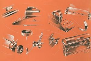 Views of Typewriter Parts by Found Image Press