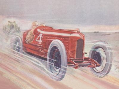 Vintage Racing Car 1