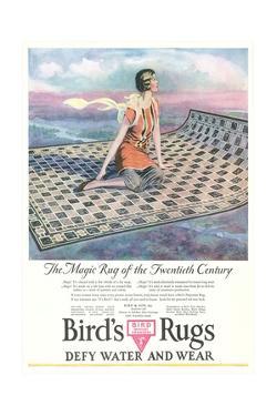 Vintage Rug Advertisement by Found Image Press