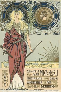 Warrior Goddess with Broken Sword by Found Image Press