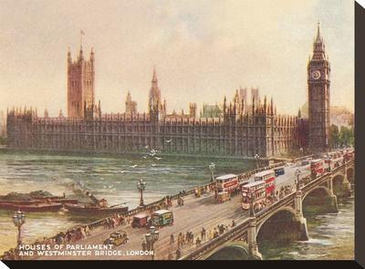 Westminster Bridge Parliament London