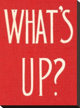 What S Up by Found Image Press