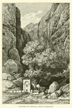 Fountain of Castalia, Mount Parnassus