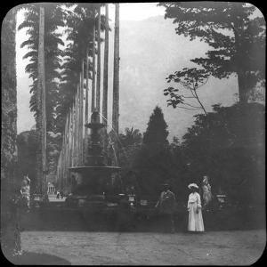 Fountain of the Muses, Rio De Janeiro Botanical Garden, Brazil, Late 19th or Early 20th Century