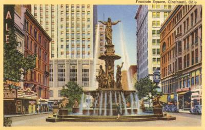 Fountain Square, Cincinnati, Ohio