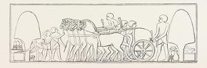 Four-Horse Chariot of a Private Person from Abd-El-Kurnah. Egypt, 1879