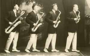 Four Saxophones