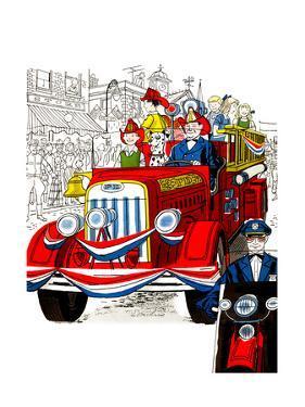 Fourth of July Parade - Jack & Jill