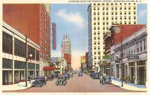 Fourth Street, Winston-Salem, North Carolina