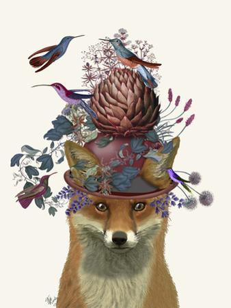 Fox Birdkeeper with Artichoke