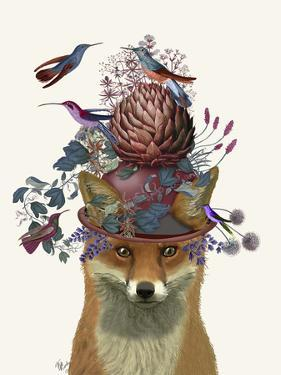 Fox Birdkeeper with Artichoke