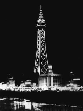 Blackpool Tower by Fox Photos