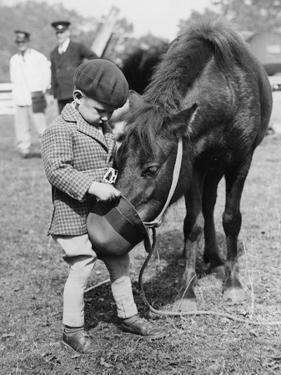 Feeding the Pony by Fox Photos