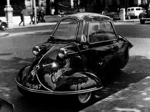 Messerschmitt Car by Fox Photos