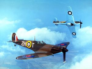 Supermarine Spitfire by Fox Photos