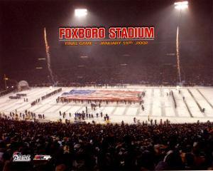 Foxboro Stadium - Last Game Overlay