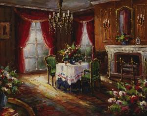 Fireside Supper by Foxwell