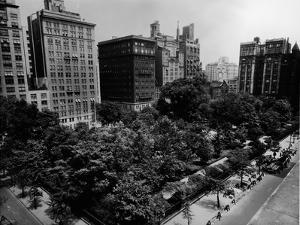 Aerial View of Gramercy Park by FPG