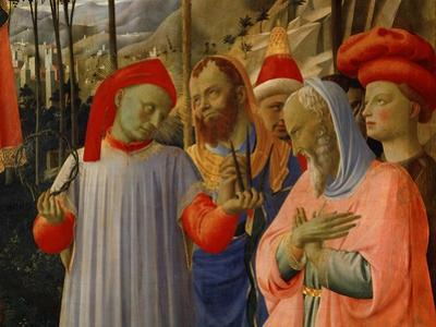 A group of men (around 1430) by Fra Angelico