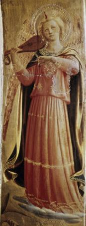 Angel with a Violin by Fra Angelico