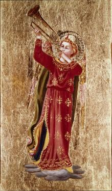 Angel with Trumpet by Fra Angelico