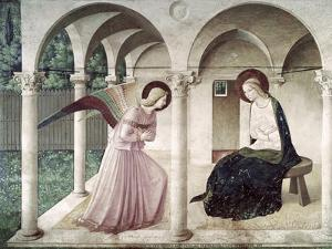 Annunciation, c.1438-1445 by Fra Angelico