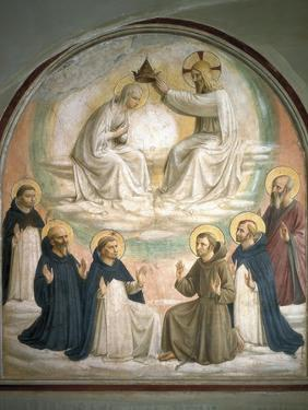 Coronation of the Virgin by Fra Angelico