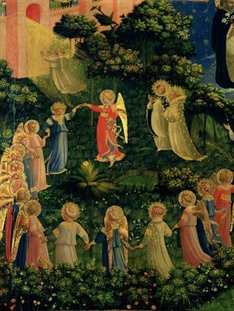 Detail of Heaven from the Last Judgement