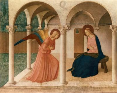 L'Annunciazione, 1387-1455 by Fra Angelico