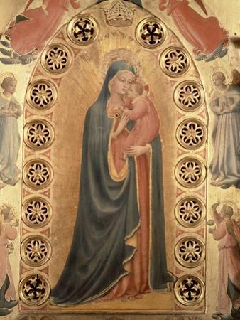 Madonna of the Stars by Fra Angelico