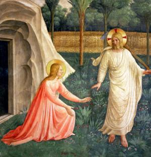 Noli Me Tangere, 1442 by Fra Angelico