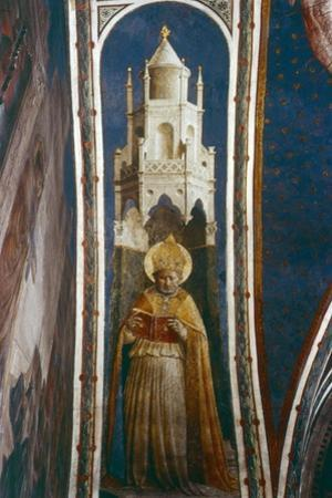 St Ambrose, Mid 15th Century by Fra Angelico