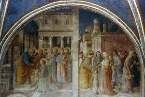 St Peter Ordaining St Stephen Deacon, Mid 15th Century by Fra Angelico