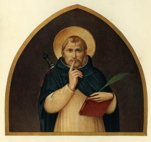 'St. Peter the Martyr', 15th century, (c1909) by Fra Angelico