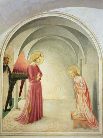The Annunciation, 1442 by Fra Angelico