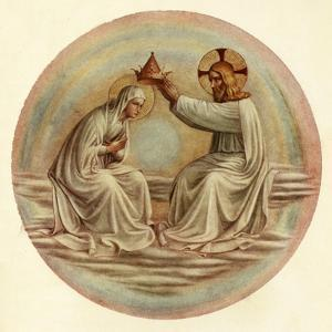 'The Coronation of the Virgin', 15th century, (c1909) by Fra Angelico