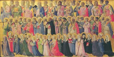 The Forerunners of Christ with Saints and Martyrs, 1423-24