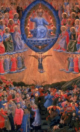 The Last Judgement, C1420-1455 by Fra Angelico