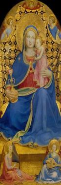 The Virgin of Humility by Fra Angelico