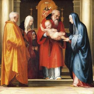Presentation of Jesus in Temple by Fra Bartolomeo