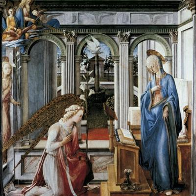 The Annunciation by Fra Filippino Lippi